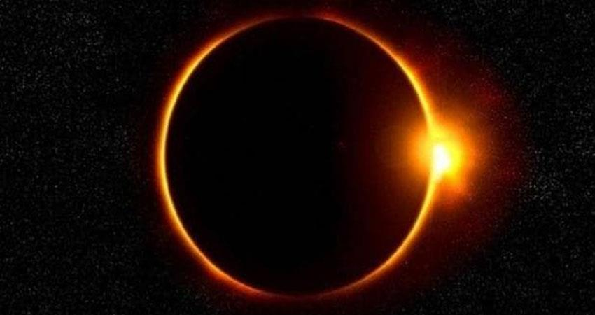 know when solar eclipse will happen in india time period and period of sutak period prshnt