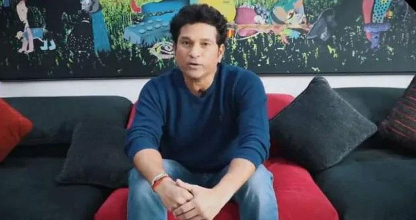 sachin tendulkar released video to escape coronavirus