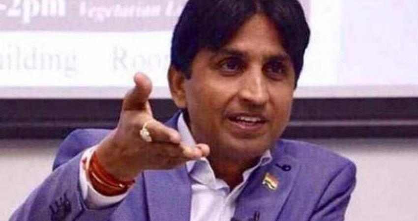 kumar vishwas slam bjp leader ranjit bahadur over hadras rape case victim rkdsnt