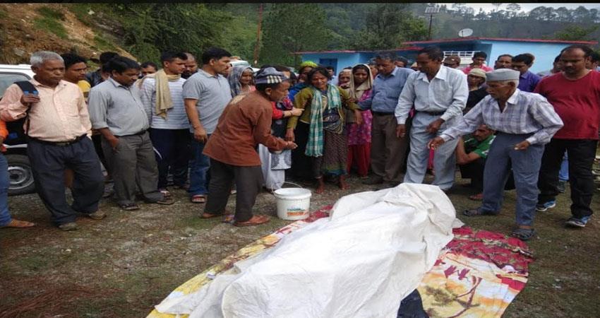 kumaoni-singer-pappu-karki-funeral-in-uttarakhand
