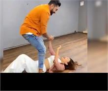 मंगेतर के साथ डांस करते करते गिर गईं गौहर खान, वीडियो हो रहा वायरल