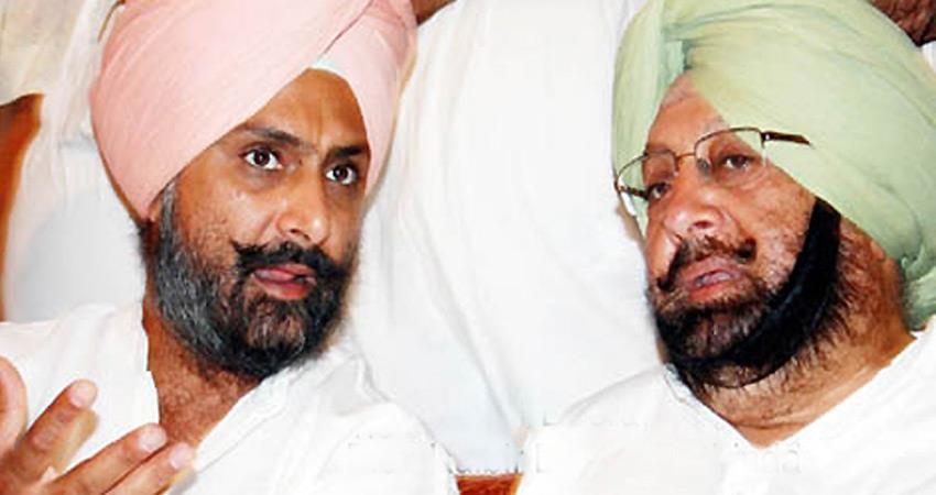 ed calls cm amarinder singh son congress raises questions on timing rkdsnt