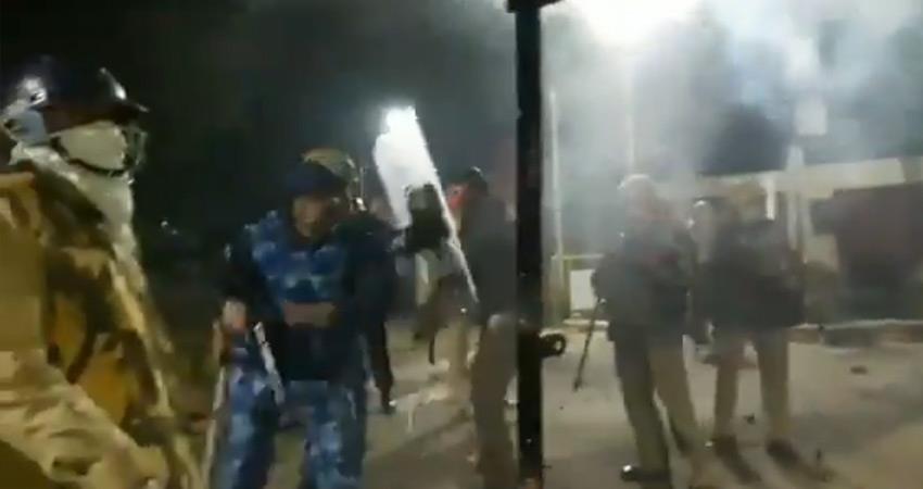 up police actions issue procter afifullah resigns under pressure from amu students
