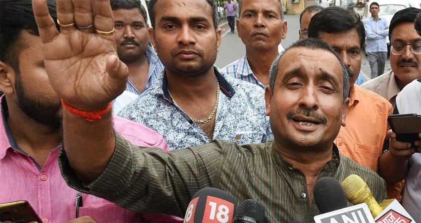 fir filed against kuldeep singh senger