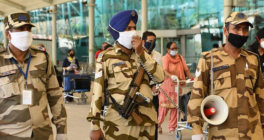 CISF jawan dies of corona infection 18 soldiers have lost their lives so far covid 19 Rkdsnt