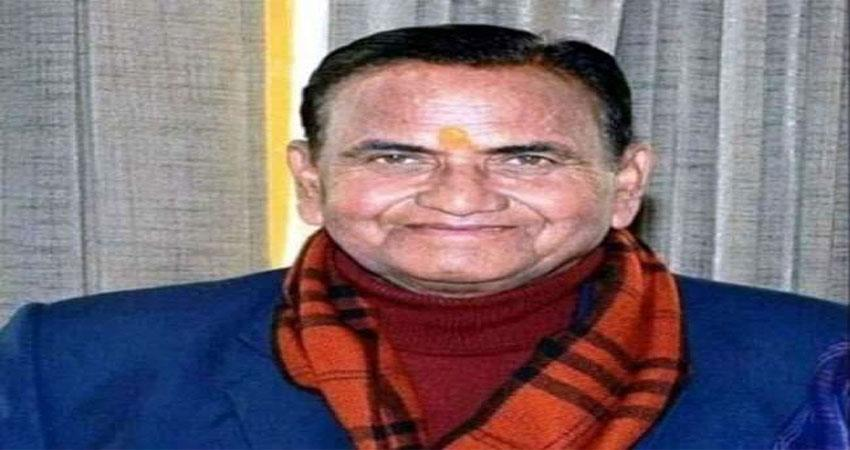 BJP Senior leader Rikhi Ram Kaundal died of a heart attack
