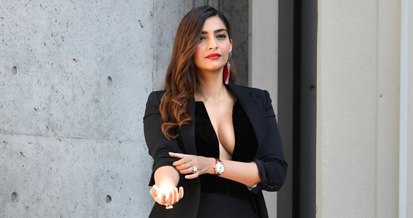 sonam kapoor reveals the name of luck charm of her life