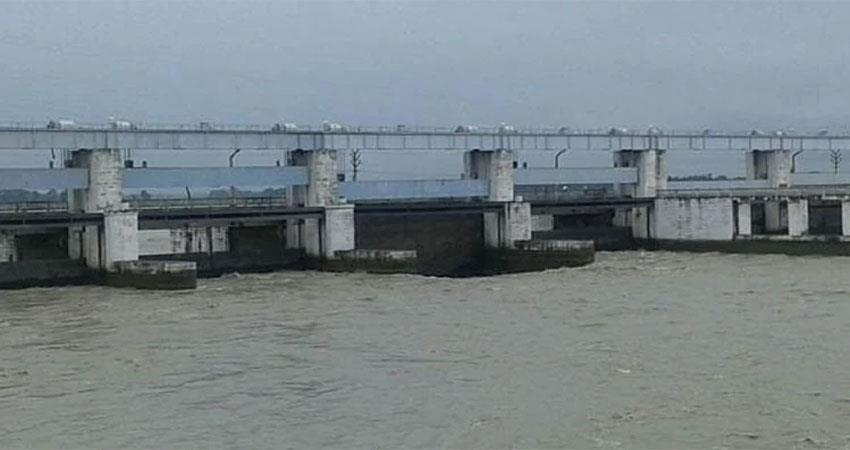 barrier in dam repair so will bihar be flooded due to nepal  albsnt