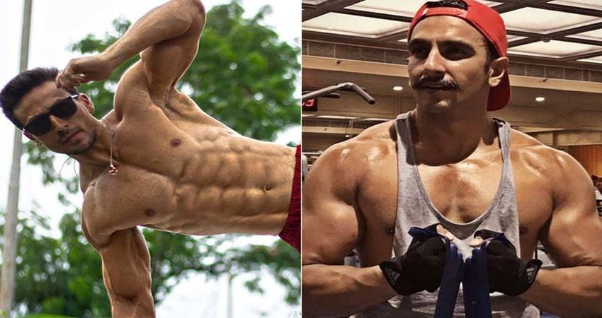 ranveer singh commented on tiger shroff shirtless photo sosnnt