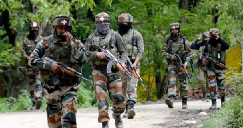 Anti infiltration operation in Uri, Pakistani terrorist arrested others killed PRSHNT