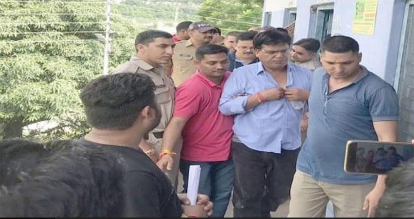uttrakhand news trivendra singh rawat tehsildar arrested