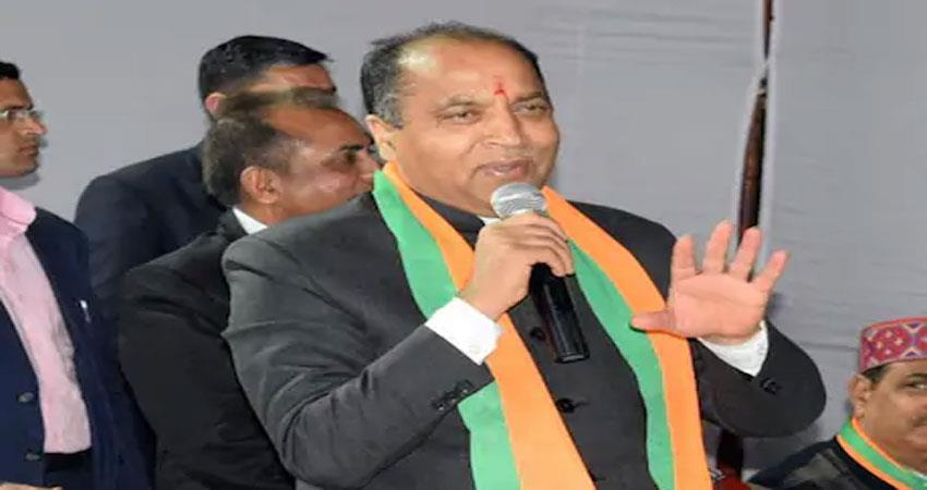 himachal pradesh cm jairam thakur gave hints soon tourist places will be opened albsnt