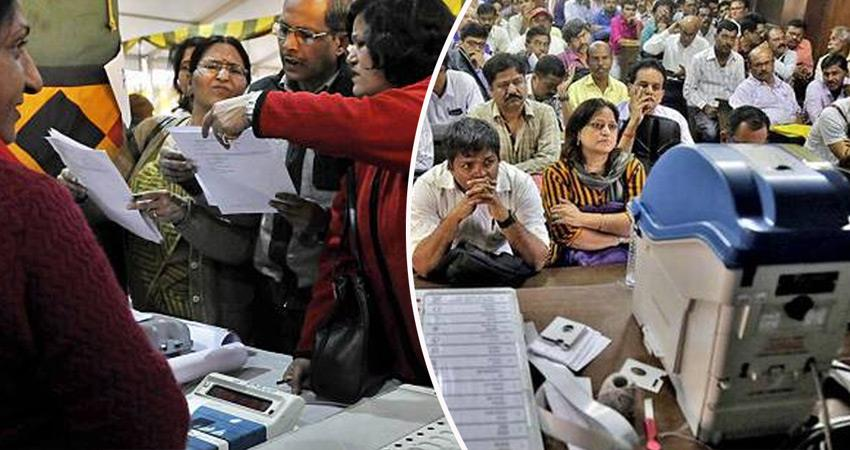 loksabha-elections-2019-election-commission-mismanagement-polling-staff-facing-problems