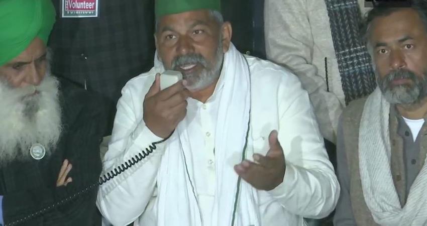 haryana police registers case against farmer leader rakesh tikait 12 others rkdsnt