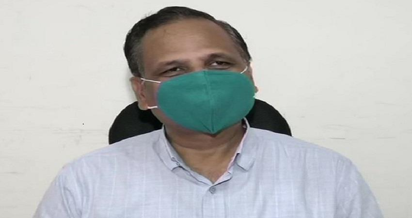 delhi satyendar jain has improved after being administered plasma therapy pragnt