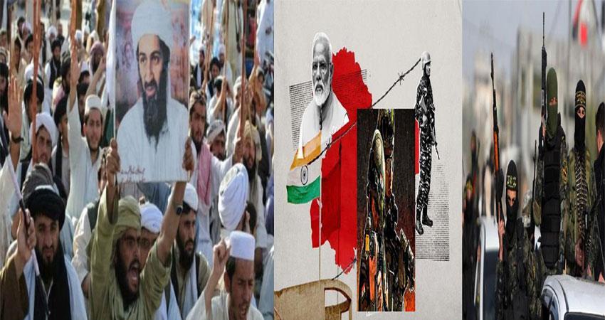 terrorist organizations engaged in instigating kashmiri youth