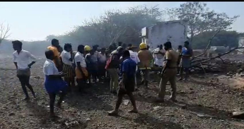 tamilnadu fire cracker factory sobhnt