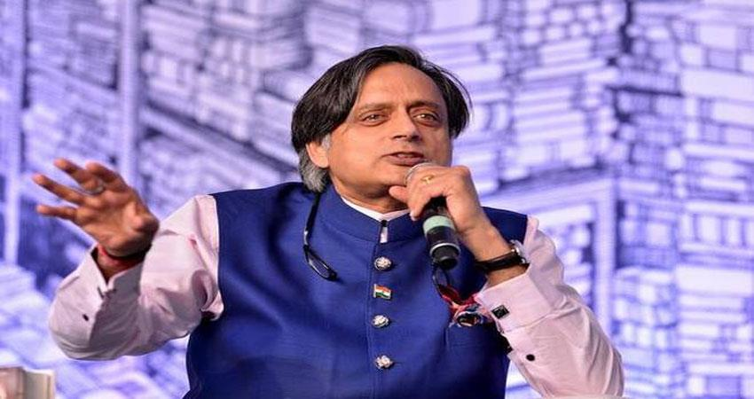 FIR on 49 celebrities Tharoor wrote a letter to Modi expressing strong opposition