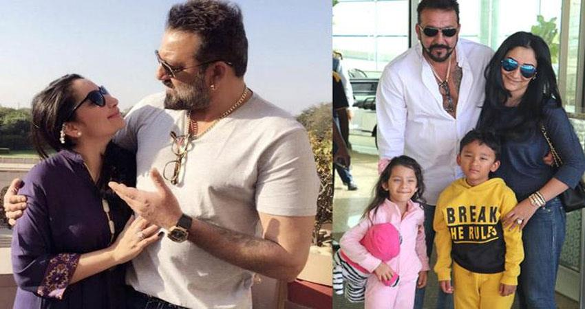 bollywood star Sanjay Dutt and his wife want to give normal childhood to their children