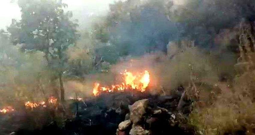 heavy fire in assams bagjan oil well stirred up djsgnt