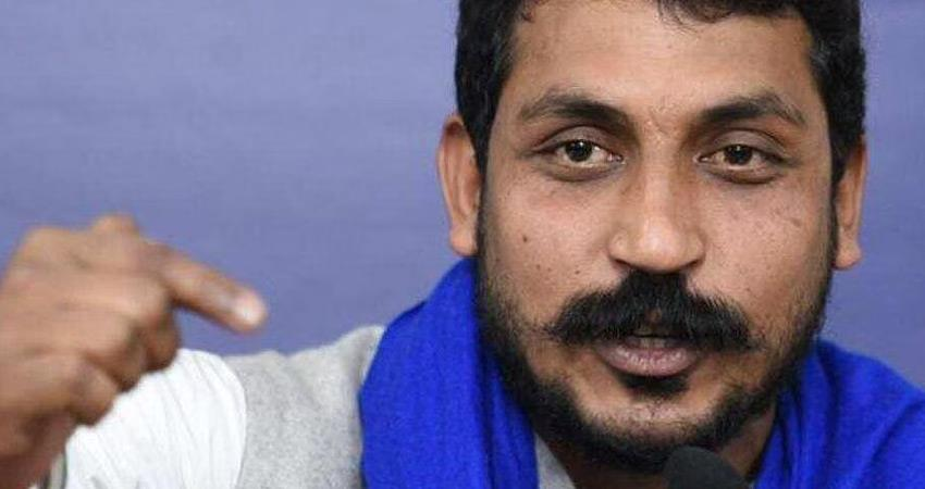 chandrashekhar azad bhim army questions up law and order target bjp yogi adityanath rkdsnt