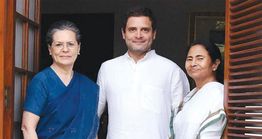Mamta came to Congress on Bengal CM what is its political meaning ALBSNT