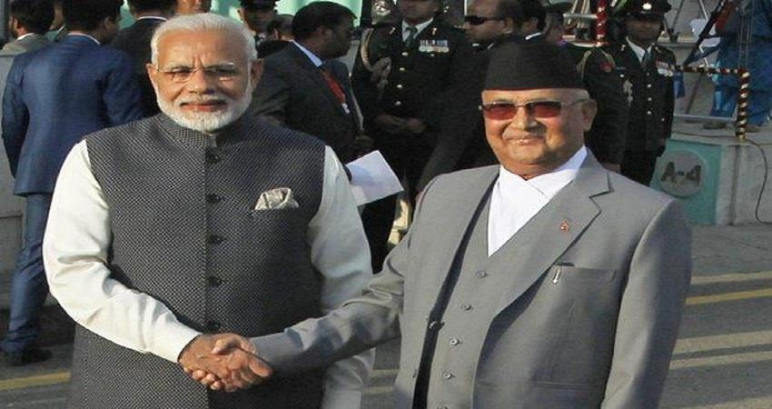 pm kp sharma oli thanked pm modi for sending medicines from india to nepal sohsnt