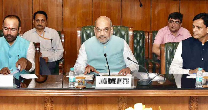 amit shah corona treatment reactions on foundation stone for construction of ram temple rkdsnt