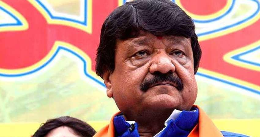 bjp kailash vijayvargiya defend his son akash vijayvargiya over beating officer with cricket bat