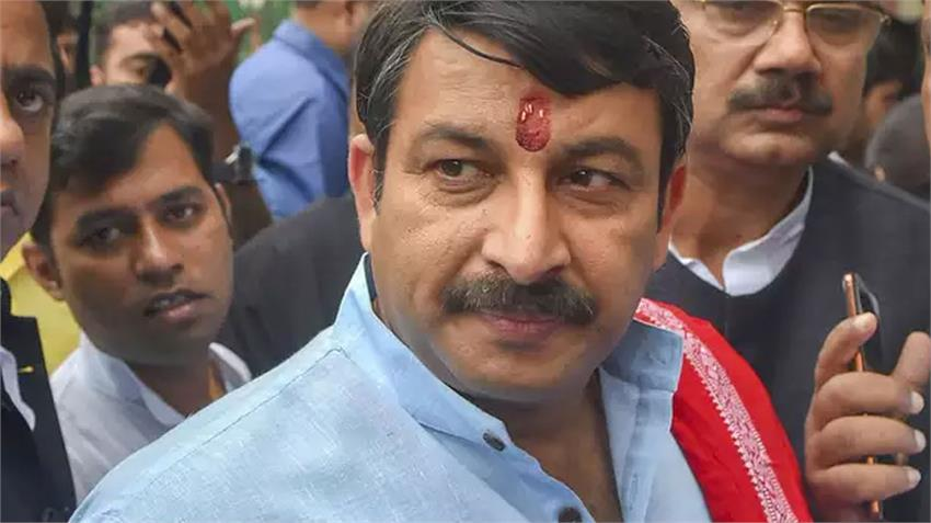 manoj tiwari became emotional after losing post delhi bjp pradesh president rkdsnt