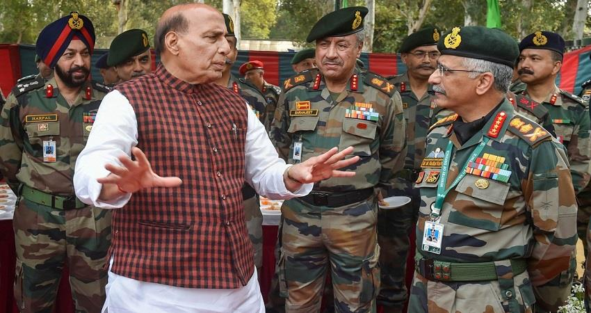 rajnath singh visit eastern ladakh in view of the chinese aggression pragnt
