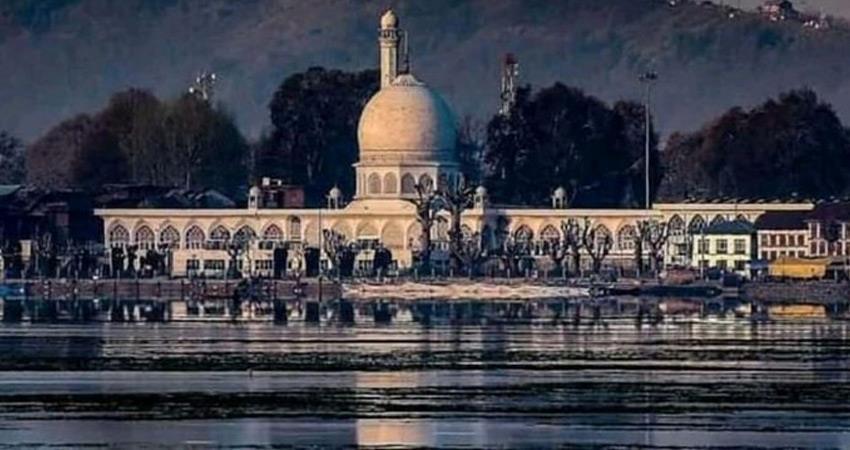 jammu kashmir ayodhya supreme court verdict eid all roads hazrat bal dargah sealed