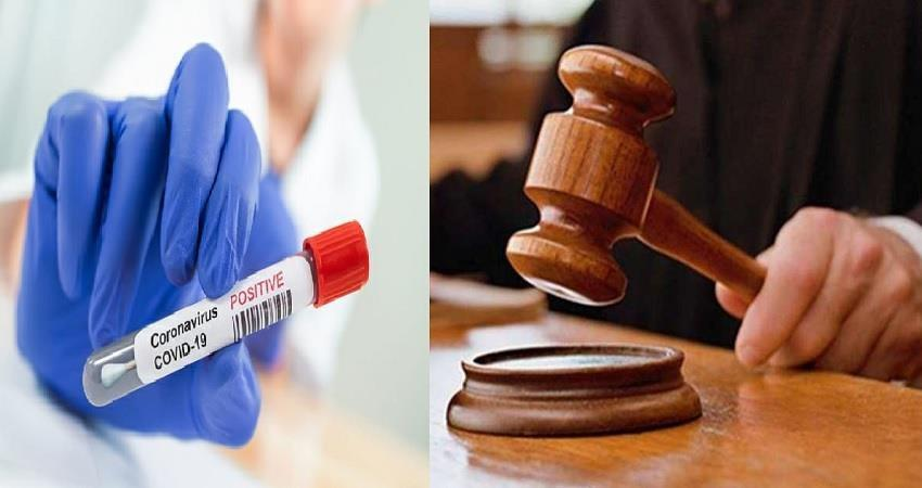 woman judge of saket court got coronavirus positive in delhi pragnt