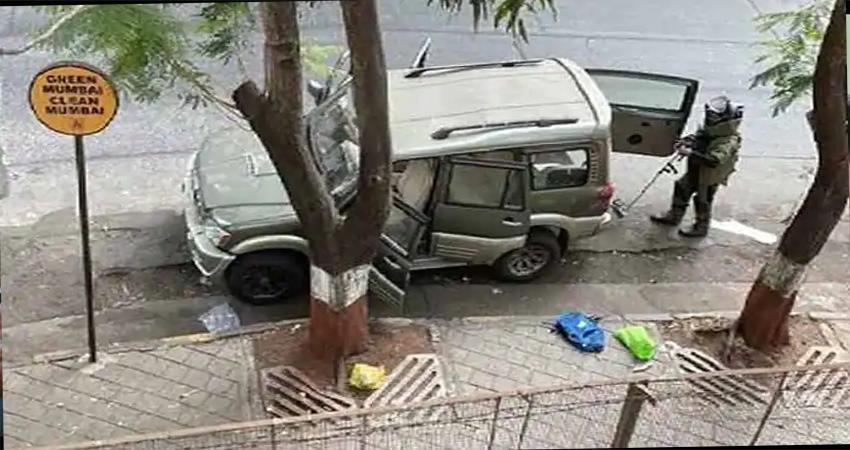 death of owner of explosive car found outside ambanis house djsgnt