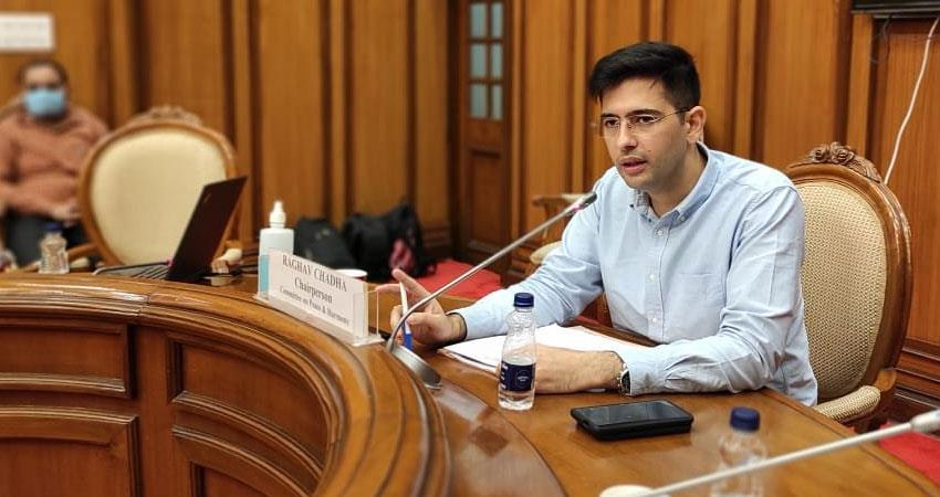 delhi assembly committee raghav chadha issued final notice to facebook issue rkdsnt
