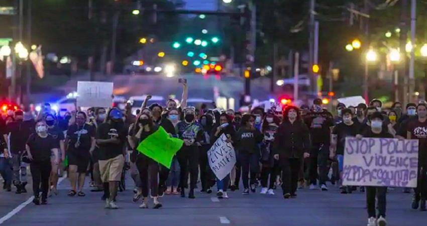 getting violence against killing of black in America sohsnt