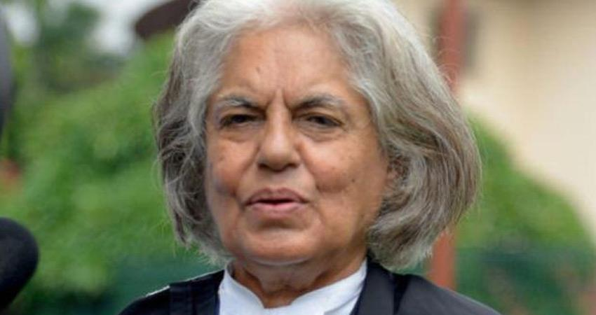 indira jaising senior lawyer reactions after cbi raids on her offices husband anand grover
