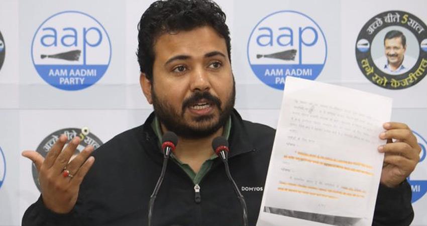 aap makes serious allegations against bjp ruled mcd mayor jai prakash rkdsnt