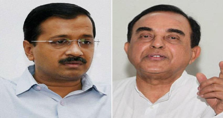 subramaniam told kejriwal - suspend, two governments should not be in lockdown prsgnt