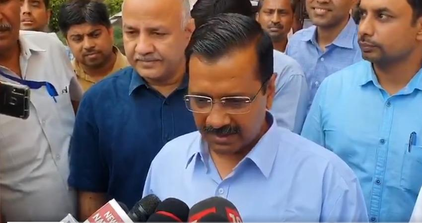 arvind kejriwal aap convened an all party meeting on current situation of corona virus rkdsnt