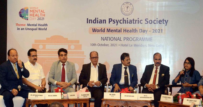 nationwide program on mental health necessary: ??dr saha