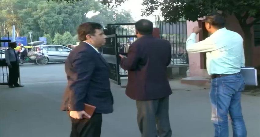 jamia millia islamia sit delhi police cctv