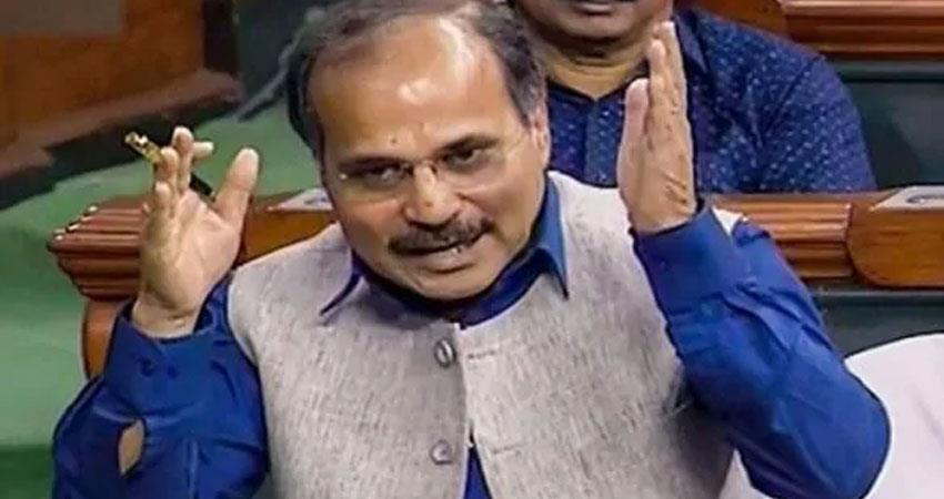 congress adhir says modinomics failed pm modi listen to manmohan singh patiently rkdsnt