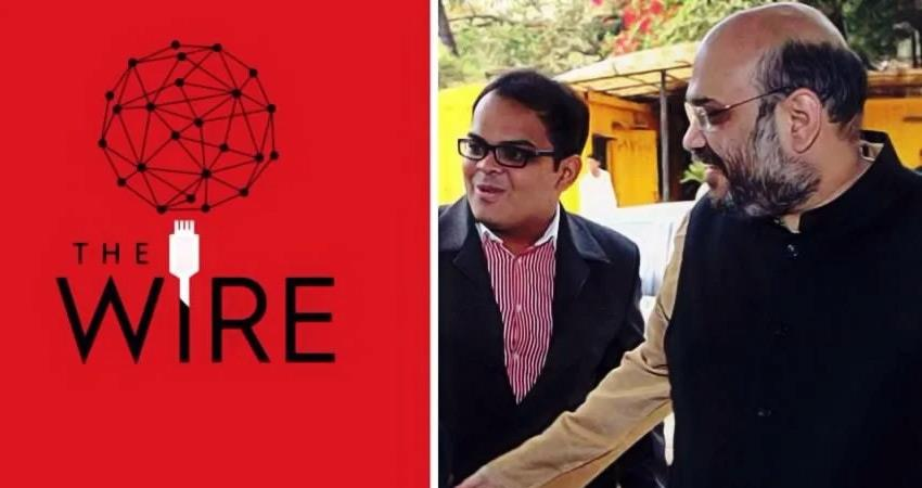 bjp chief amit shah son jay shah defamation suit supreme court will hear the wire petition