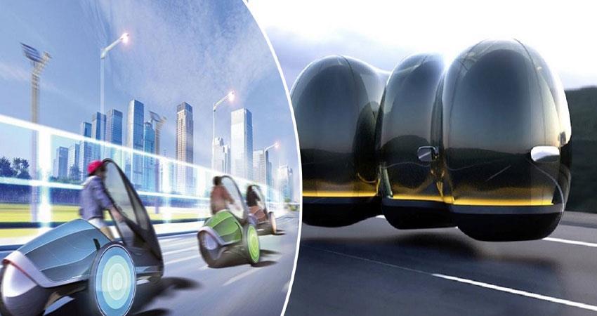 car and train run magnetic energy anjsnt
