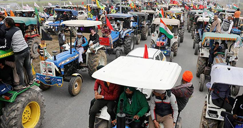 delhi police gives green signal farmers republic day tractor parade farmers movement rkdsnt