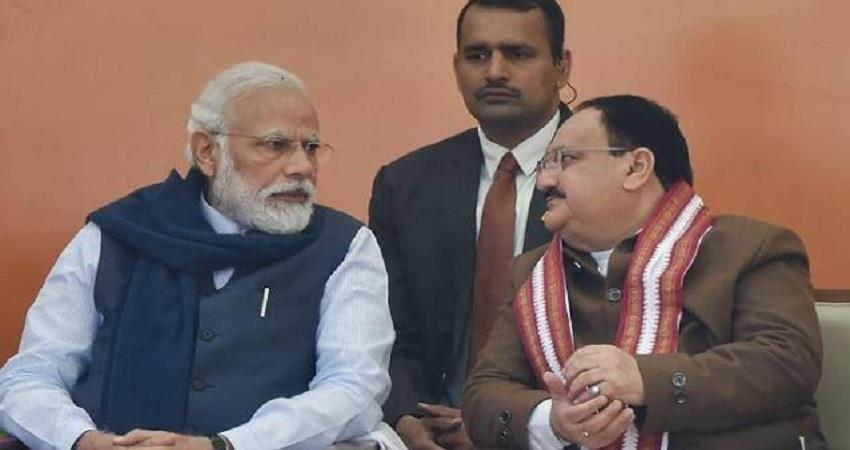 nadda met modi what is the meaning of one after one meeting in delhi know in detail albsnt