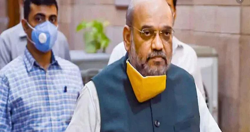 home minister amit shah health improved pragnt