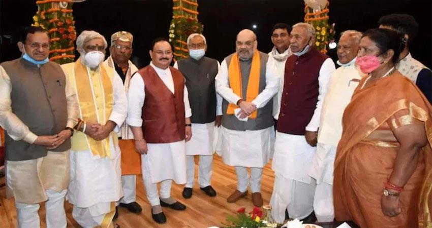 after all where is the screw in the expansion of nitish cabinet what is the intention of bjp albsnt