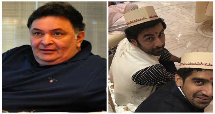 rishi kapoor wanted his son to get marry with the guy sosnnt